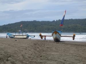 Pangadaran beach